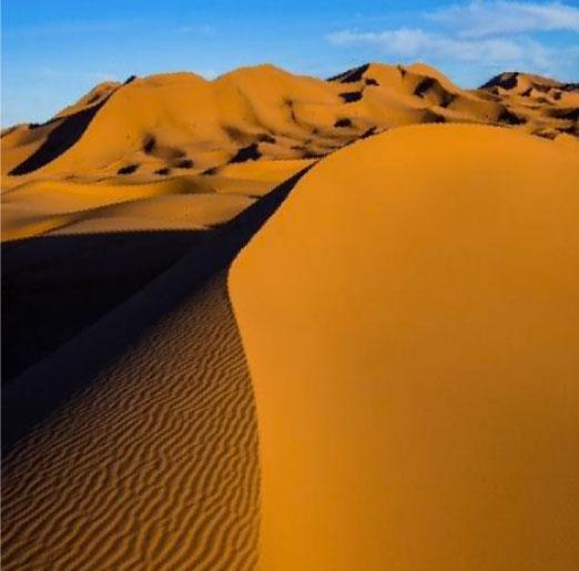 Étape 5 : Après la montagne, le désert et les dunes de Merzouga