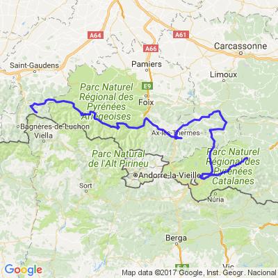Traversée des Pyrénées étape 3