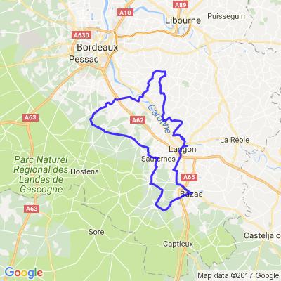 Les châteaux au sud de Bordeaux