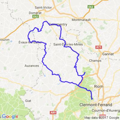 Clermont Ferrand - Montluçon