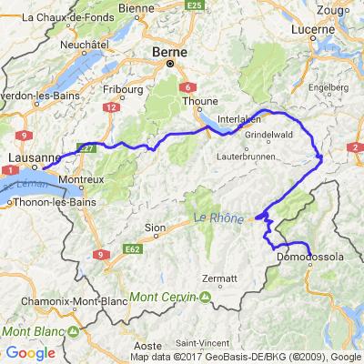 Cols en Suisse