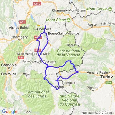5 grands cols des alpes de Savoie
