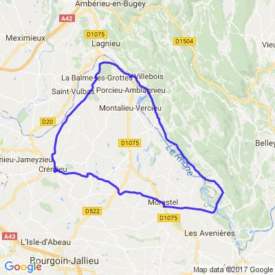Vallée du Rhône et l'isle crémieu