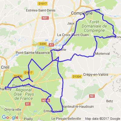 Oise circuit touristique des 4 Châteaux et villages de Charmes