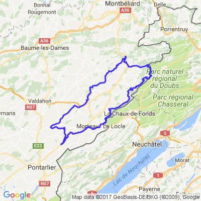 Vallées du Doubs et du Dessoubre
