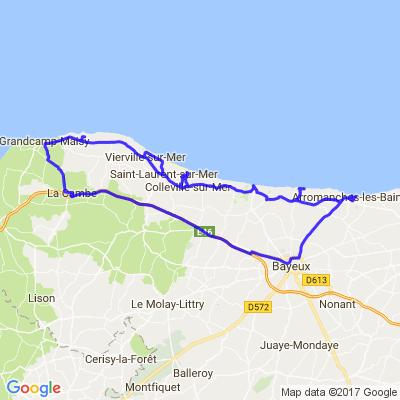 Plages du débarquements de Normandie - OMAHA BEACH