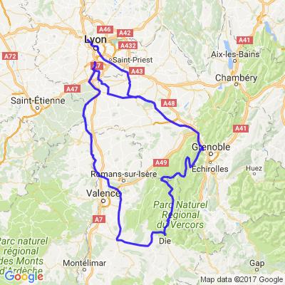 Balade dans le Vercors au départ de Lyon