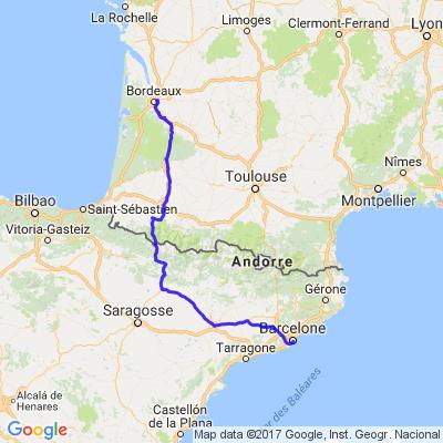 Bordeaux-Barcelone