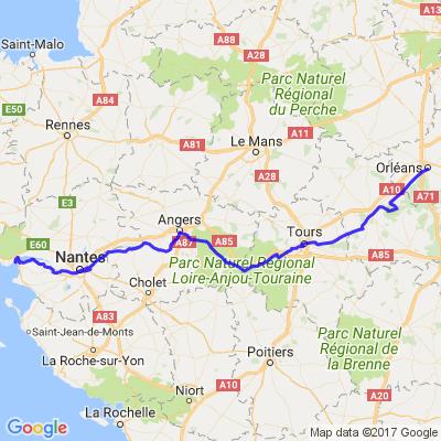 Descente de Loire, Chateaux et Paysages...
