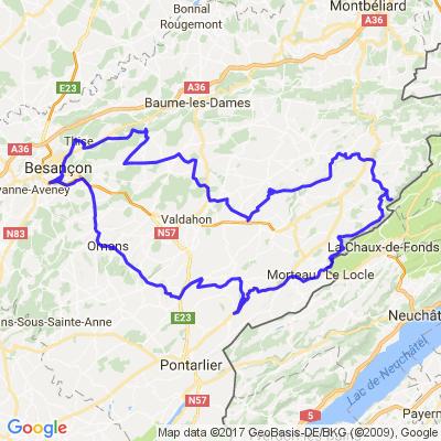 vallées de la Loue et du Doubs