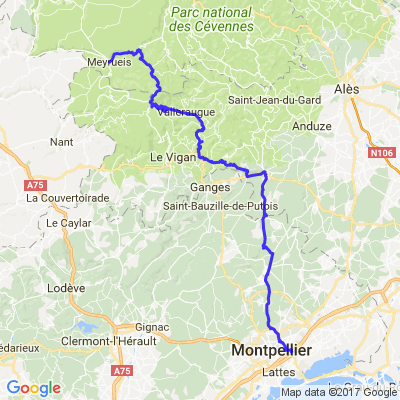 4 jours en Languedoc 4ème journée