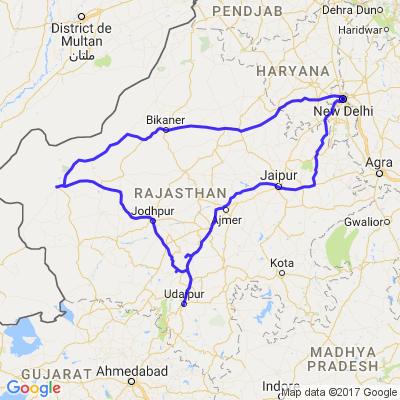 Randonée moto Rajasthan