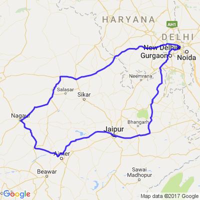 L'essentiel du Rajasthan à moto