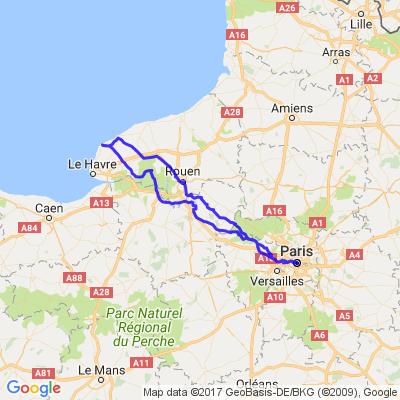 Une virée en Normandie direction Etretat
