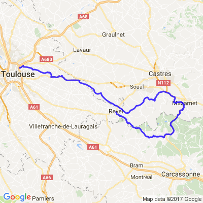 Toulouse,Sorèze,Mazamet,Saint Ferréol