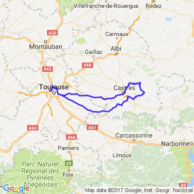 Toulouse - Castres et le Tarn