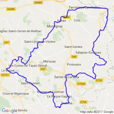 Rando Lot et  Dordogne 2013