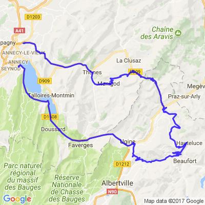Annecy-Col des Aravis-Annecy