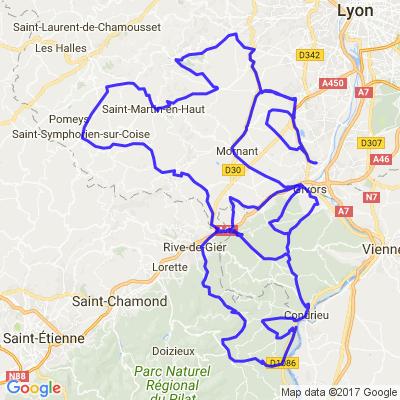 Entre Monts du Lyonnais et Pilat
