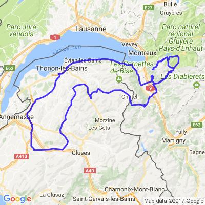 Balade des 47 ponts en Suisse