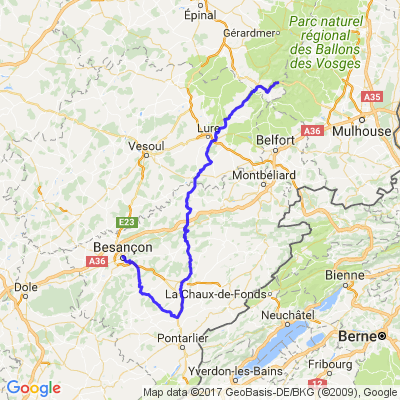 Bussang Besançon
