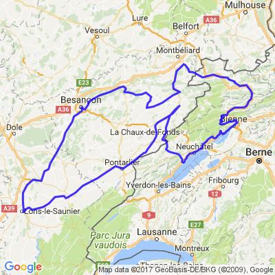 Vallée du Doubs depuis Cortaillod