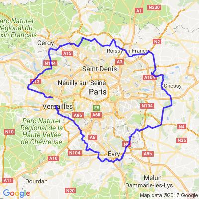Une balade autour de Paris
