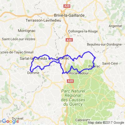 Rando entre le Lot et la Dordogne