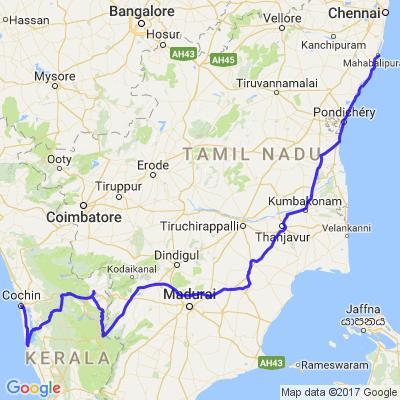 Voyage moto Inde du Sud