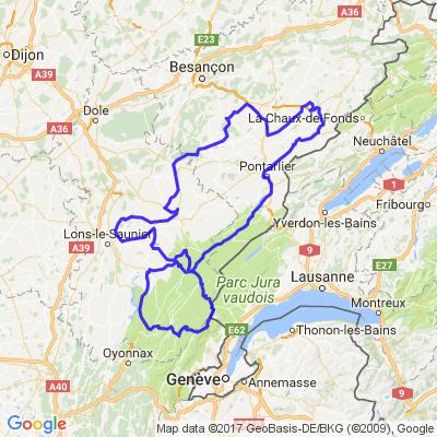 Grande ballade Doubs / Jura