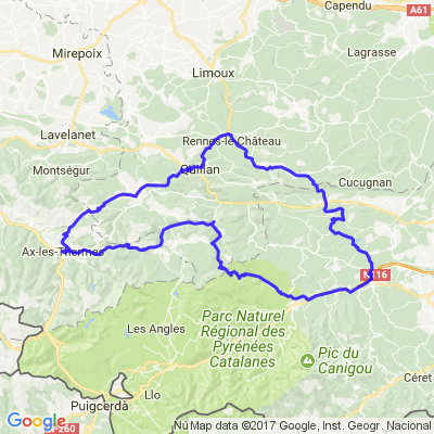 Pyrénées : autour des Gorges de Galamus