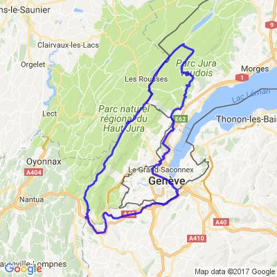 circuit de la Valserine - col du Marchairuz
