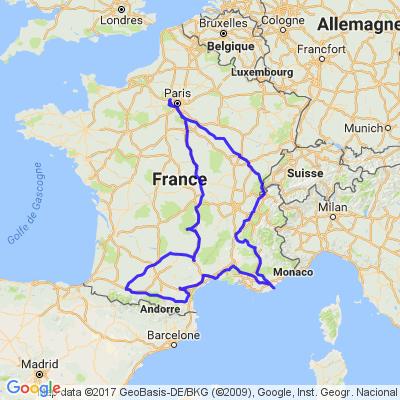 Ballade d'été en centre et Est de la France