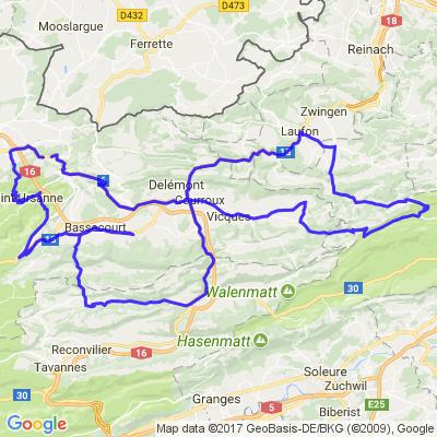 Tours au Jura Suisse