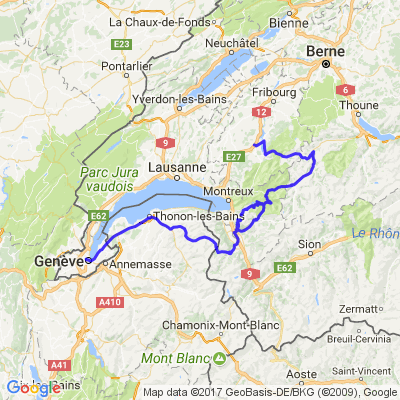 Genève - Riaz
