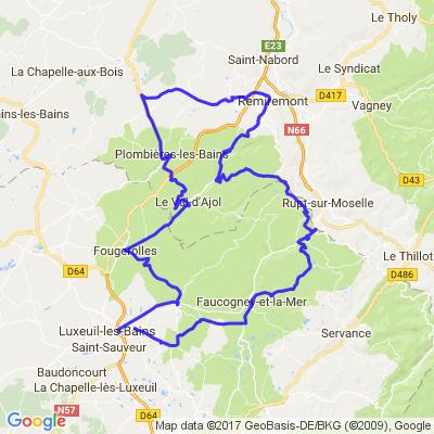 2h à tuer en Haute saône et Vosges