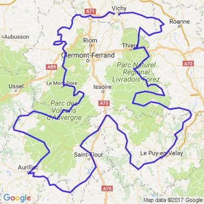 Grand tour d'Auvergne