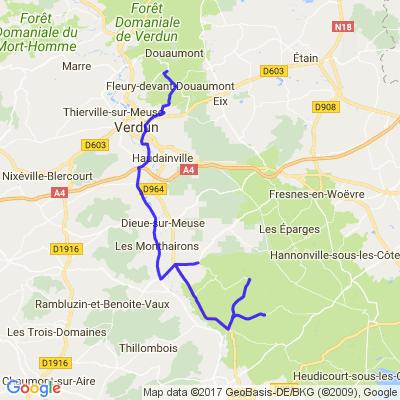 seuzey / ossuaire de Douaumont