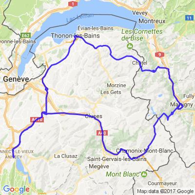 Annecy Chamonix Chablais Suisse et Français
