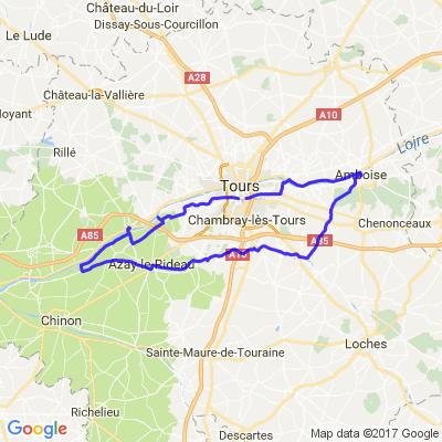 Balade en Touraine par les chateaux (Tours37)