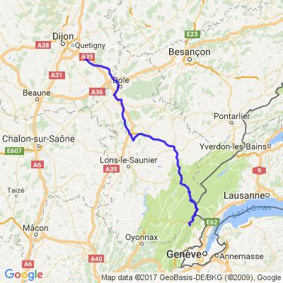 Genlis - Col de la Faucille