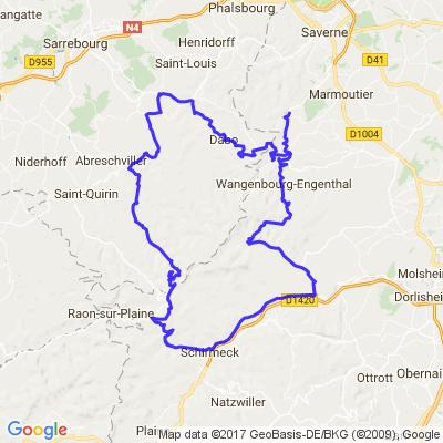 Vallée de la Bruche Dabo Donon Alsace