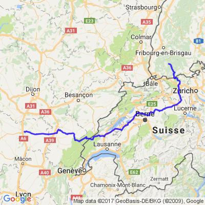 Vacances en Foret Noire 3/3 - Foret Noire - Bourgogne