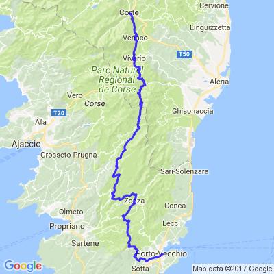 Corsica Tour 2015 J3 Porto-Vechio Corte
