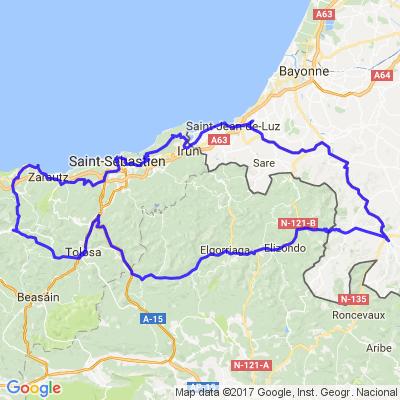 cote basque  et intérieur