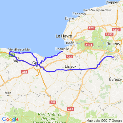 Route du souvenir (Normandie)