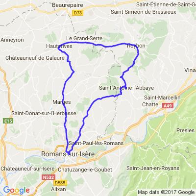 Balade dans la Drôme et le Vercors - 2° journée