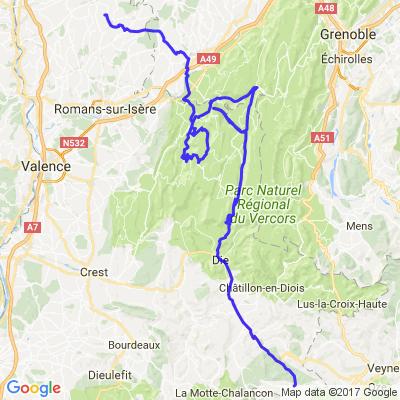 Balade dans la Drôme et le Vercors - 3° journée