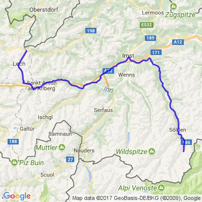 Le Tyrol : Lac de Resia - Col du Rombo (part 2)