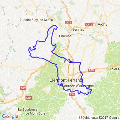 Entre volcans d'Auvergne et vallée de la Sioule